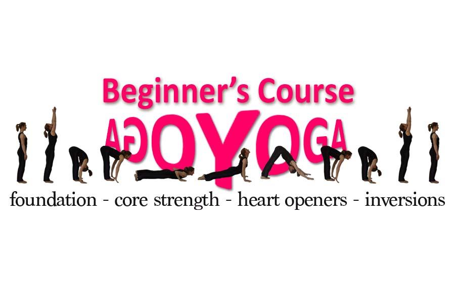 New Beginner's Course starts September 7th